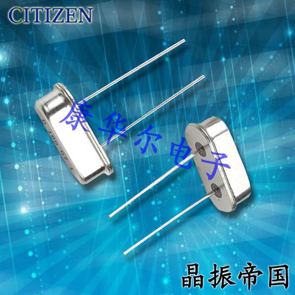 西铁城晶振,石英晶振,HC-49/U-S晶振,HC-49/U-S8000000ABJB晶振