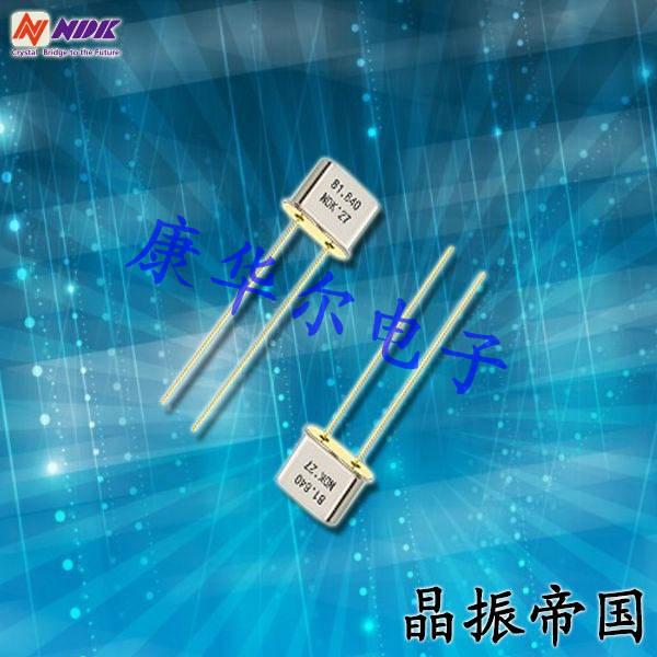 NDK晶振,石英晶振,NR-2B晶振,引脚插件晶振