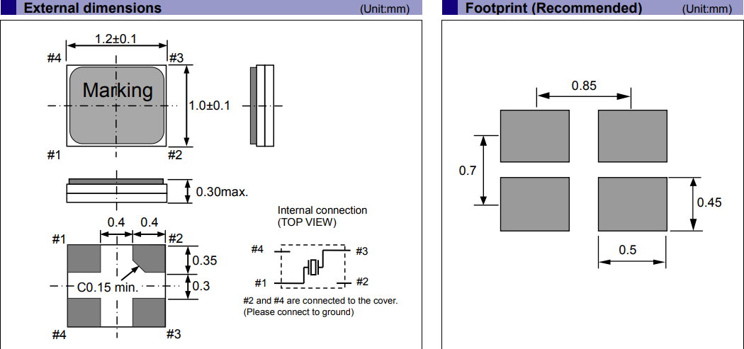 爱普生晶振,贴片晶振,FA1210AN晶振,金属面晶振