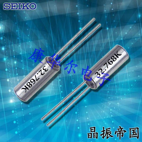 精工晶振,石英晶振,VT-120-F晶振,圆柱插件晶振
