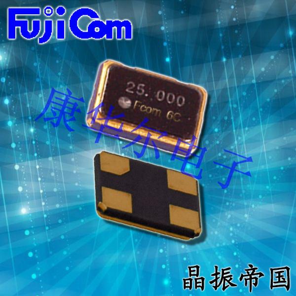 富士晶振,贴片晶振,FSX-5M晶振,无源SMD晶振