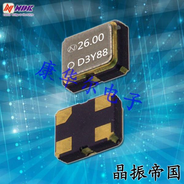 NDK晶振,石英晶体振荡器,NZ2016SD晶振,日本电波时钟振荡器
