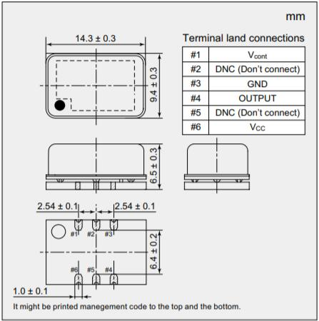 NDK晶振,恒温晶振,NH14M09TB晶振,OCXO振荡器