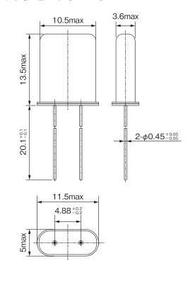 NAKA晶振,石英晶振,HC-49U晶振,49U形日产晶振