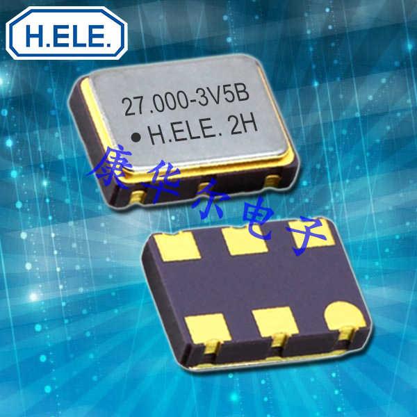 加高晶振,压控晶振,HSV753S贴片晶振