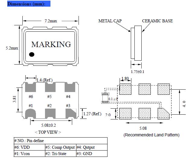 NSK晶振,有源晶振,NADD75晶振,MHz有源晶振