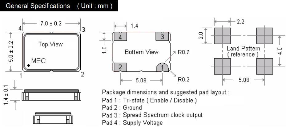 MERCURY晶振,有源晶振,HM572Y振荡器