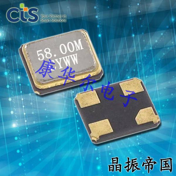 CTS晶振,耐高温晶振,403晶体
