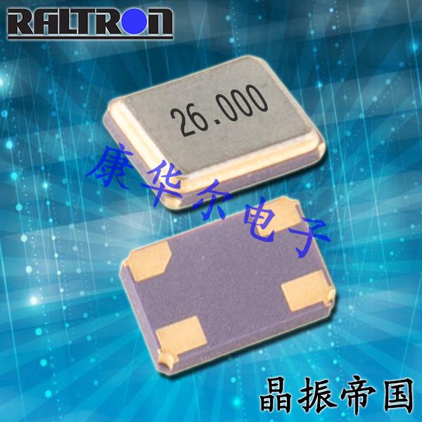 Raltron晶振,进口压电石英晶体,RH100晶振