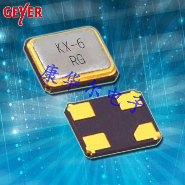 GEYER晶振,进口SMD晶振,KX-6晶体