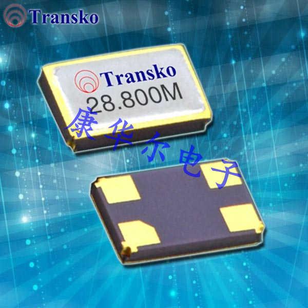 Transko晶振,无铅环保晶振,CS16晶体