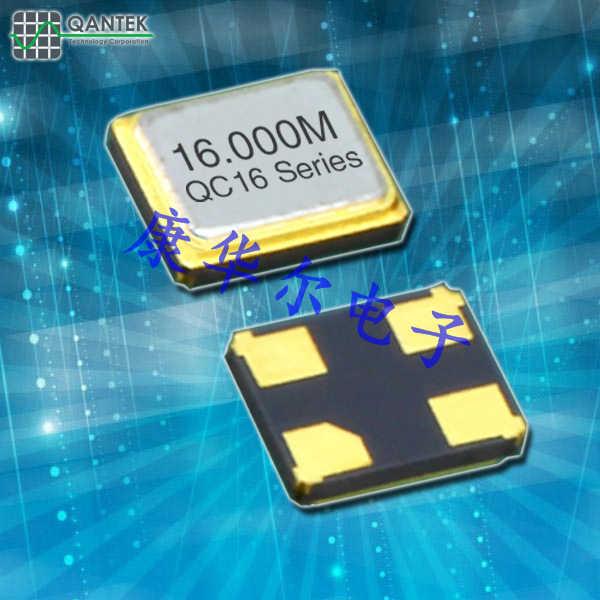 QANTEK晶振,进口贴片晶振,QC16晶体