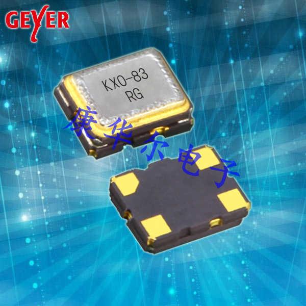 GEYER晶振,TCXO温补振荡器,VC-TCXO晶振,KXO-83石英晶振