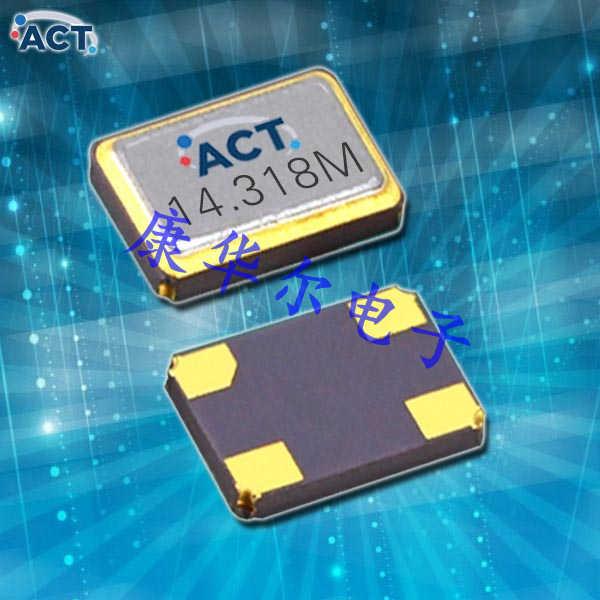 ACT晶振,进口贴片晶振,92016S时钟振荡器
