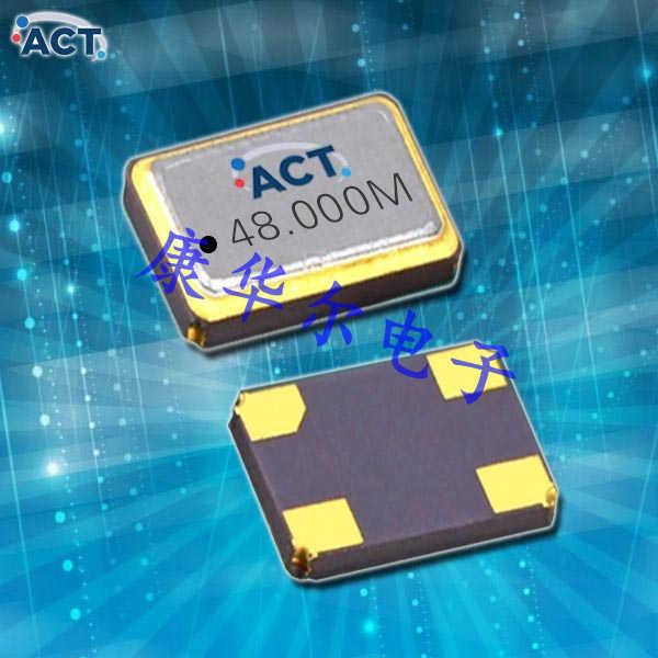 ACT晶振,压控温补晶体振荡器,TCSW53低电压振荡器