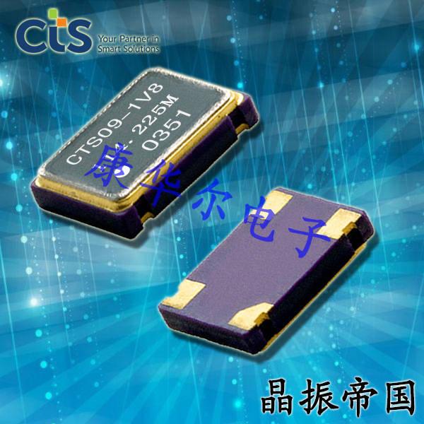 CTS晶振,环保晶振,636高性能晶振